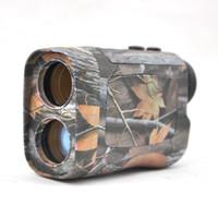 Vision 6x25 CM Laser-Entfernungsmesser Monocular 600 M / Y Range Finder-Entfernungsmesser-Entfernungsmesser für die Jagd / Golf Telemetro Camo