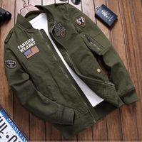 2020 New men luxury mens designer winter Bomber jacket flight pilot Jacket windbreaker oversize outerwear casual coats mens clothing army co