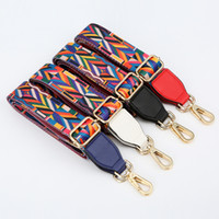 Wholesale canvas strap webbing Striped 3. 8cm Wide single bag...