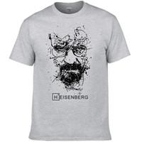 Nueva moda Breaking Bad Camisetas Hombres Heisenberg Camisetas Hombre Hombres Cool Tee Shirts Tops de manga corta de algodón Hip Hop camisetas