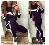 Spring and summer new long- sleeved tight- fitting print sport...