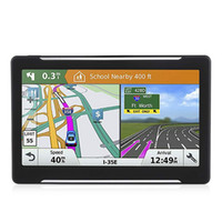 7 pollici Portable Map Car GPS Veicolo Pratico Accessori satellitari HD Navigator Screen Voice Guide Truck Ricaricabile