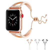 Luxury Stainless Steel Strap Apple Watch Band For Apple Watc...