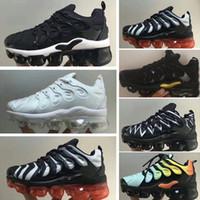 Plus Tn Children Parent Child Zapatos casuales para el bebé, niña, diseñador de moda, zapatillas de deporte, zapatillas blancas para correr al aire libre 28-35