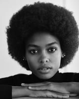 Haute Qualité La coiffure Brésilienne cheveux africain Amere Courti Courti Courti Court Kinky Curly Perruque Simulation Humain Cheveux Black Burly Perruque