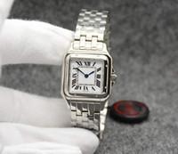 مصنع الفضة روز الذهب المرأة ووتش 27 ملليمتر استيراد حركة الكوارتز سانتو الياقوت الماس الأزياء الحضرية الساعات عالية quauilty