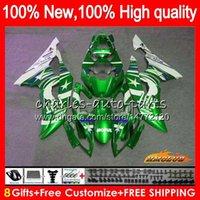 Cuerpo OEM para YAMAHA YZF R6 YZF 600cc 600 YZF600 06-07 Marco 61NO.124 YZFR6 YZF600 metal verde YZF R6 YZFR6 06 07 2006 2007 Kit carenado