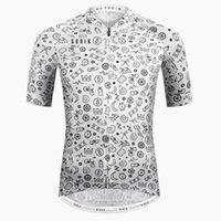 Велосипедные рубашки Топы Летние с коротким рукавом MTB Bike Jersey 2021 ROPA Ciclismo Одежда Мужская рубашка Hombre Maillot