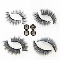 3D Mink Natural Longo Cílios Confortável e Suave Extensão Dos Cílios Falsos Grosso Do Falso 3d Mink Falso Cílios Cílios Maquiagem Dos Olhos 1 Par