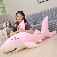 50cm- 130cm Giant Plush Sharks Toys Stuffed Animals Simulatio...