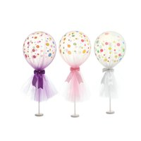 12 inch Tulle Polka Dot Balloon Kit for Birthday Wedding Par...