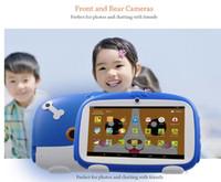 7 pulgadas de la nueva historieta de aprendizaje Kids Dog Tablet Pc Android 4.4 Quad Core instalados mejores regalos para niños Tablets Pc 512 + 8 GB