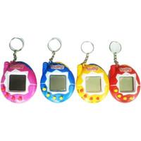 Oyun Evcil One Sanal Hayvan Siber Yenilik Öğeleri Komik Oyuncaklar Vintage Retro Tamagotchi Elektronik Dijital Pet Çocuk Anahtarlık Oyuncak ücretsiz TNT