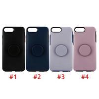 Holder NUOVO Simmetria Doppia serie di casi di colore del telefono costruito nel Kickstand protezione Shockproof per il nuovo iPhone 7/8 X Xs XR XS Max DHL