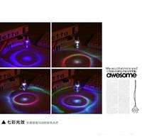 Parlak renkli ampuller anahtarlık / lamba boncuk anahtarlık / küçük kolye lamba / çift anahtarlık led ışıkları