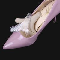 Silicone Dos De Talon Doublure En T Anti-Friction Gel Coussin Pads Semelle Haute Chaussures De Danse Poignées Pour Chaussures Soins Des Pieds