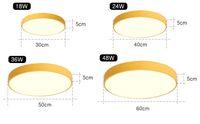 LED Deckenleuchte Moderne Panel Lampe Leuchte Wohnzimmer Schlafzimmer Küche Oberflächenmontage Flush Fernbedienung