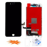 Для iPhone 7 Сенсорный ЖК-Экран Digitizer Ассамблеи Замена Лучшее Качество Заводская Цена 100% Строго Tesed