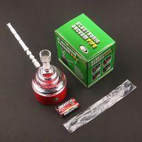 Tubo de vacío electrónico de plástico transparente forma de cono tubos de fumar Wate papá herramientas para agua humo Bongs accesorios 20jr E19