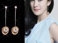 Nieuwe hete trendy oortelefoons Koreaanse temperament zirkoon oorbel studs veelzijdige mode gestapelde cirkel oorbellen stijlvolle klassieke prachtige elege