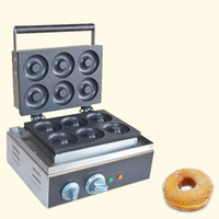 Makine Elektrik Mini Donut Waffle makinesi Makinası Mutfak Ekipmanları Yapımı SICAK SATIŞ Toptan Ticaret Donut Donut