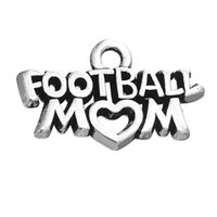 In linea di fascini della lega calcio mamma lettera all'ingrosso per Football Sport AAC1165 Theme