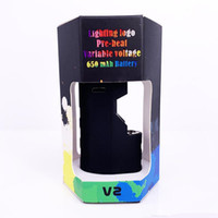 Aggiornato imini v2 olio denso cartucce Vape Kit 500mAh Box Mod Vape Batteria 510 Discussione TH210 serbatoio ceramica atomizzatore Starter vaporizzatore penna