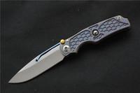Горячие продажи Кевин Джон НОВЫЙ Tilock Складной нож высокого качества открытый ножи Титановая ручка M390 карманный Нож выживания Тактический EDC инструменты