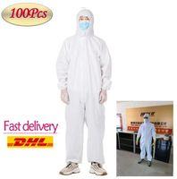 Yeni Tek Koruyucu Giyim İzolasyon Giyim Astronot Suit Koruyucu Antistaic Abiye Koruyucu Su geçirmez Suit Ürünleri FY4039