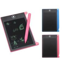 4,4-Zoll-LCD Writing Tablet-Digital-bewegliche Zeichnung Tablet Handschrift Pads Elektronisches Graffiti Tabletten-Brett für Erwachsene Kinder Kinder