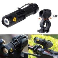 2000 Modalità di lumen Q5 in bicicletta della lampada della testa della torcia 3 MTB Luce anteriore della bici LED 360 Rotating montato 7 Wa biciclette Accessori