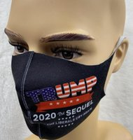 Trump Face Mask American Election Dustproof Print Mask 3D An...