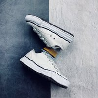 Original fashion designer MD men shoes white canvas fashion ...