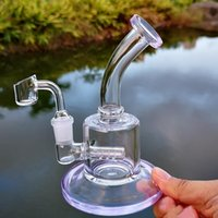 colorful 6 Inch Mini Dab Rig Colorful Thick Glass Bongs Inli...