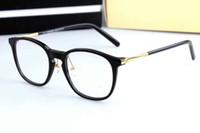 Nuovi occhiali Plank occhiali incorniciano le strutture per miopia Uomo Donna Vintage Occhiali telaio con il caso originale