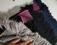 2020 Foulard Letter Modèle Femmes Écharpe Soie Coton Soie Écharpe Châle Dames Spring Foulards Taille180cm * 35cm