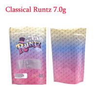 7g 28g OZ White Runtz Pink Runty Stand Up Pouch Smell Proof ...