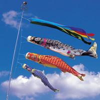 100 centímetros Koinobori japonês carpa Flags Vento Socks KOINOBORI peixes Bandeira Kite japonês koinobori para o Dia das Crianças