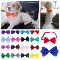nouveau chien cravate cravates chien cravates arc réglable fête de Noël fête animal familier de chat cravate Coiffe cravate accessoires T2I5255