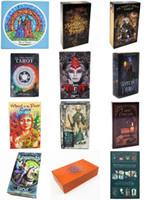 Английский Версия 12 Стили Таро Карты Таро 78 шт. / Набор Настольные Игры Карты с красочными коробками Русские инструкции Отправить по электронной почте Детские игрушки GSS398
