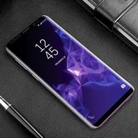 3D protective glass on for samsung galaxy S9 S8 Plus screens...