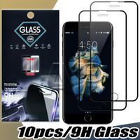 غطاء كامل الزجاج المقسى لفون 12 ميني 11 برو x xs ماكس XR 7 8 زائد حماة الشاشة فيلم مع حزمة ورقة