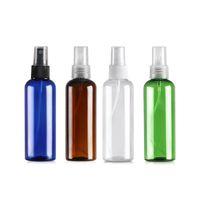 100 ml Kunststoffsprühflasche Runde Schulter Nachfüllbare Sprühflaschen zum Reinigen von Parfums Kosmetikverpackung Reinigungsflüssigkeiten