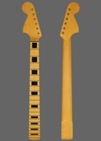 DIY 노란색 메이플 지판 전기 기타 목, 전기 기타와베이스 목의 많은 종류를 제공 할 수 있습니다