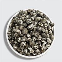 100 г Цветок жасмина Ароматный зеленый чай жасминовый жемчуг китайский высококачественный органический зеленый чай в твердой обложке ароматизированный чай продвижение