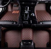 Auto-Matte für Cadillac CTS 4-Türen 2005-2020 Auto-Bodenmatten Auto Matten Carpenon-Giftig, geruchlos, leicht zu reinigen Ts