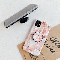 도매 뜨거운 판매 전화 케이스 아이폰 11Pro 최대 IMD 휴대 전화 커버와 팝 스탠드 전체 보호 수있는 사용자 정의 자신의 디자인