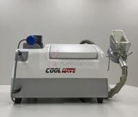 El salón casero utiliza la máquina de la onda de choque de la liposucción del vacío en venta / las celulitis portátiles reducen la máquina de la pérdida de peso