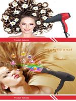 Salon de cheveux ionique professionnel Sèche-cheveux Séchoir à vent Tube froid et chaud Sèche-cheveux Sèche-cheveux Styler Barbershop plus droit Sèche-claire