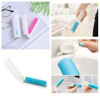 новый портативный ворс липкие ролики для удаления пыли щетка для волос одежда свитер щетка для чистки липкий ролик товары для дома T2I5692